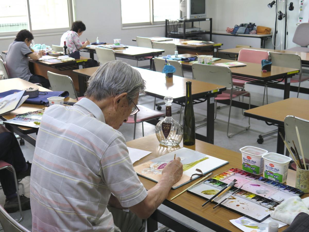 たのしみ絵画<br /> 水彩画・油彩画・パステル画なんでもOK!