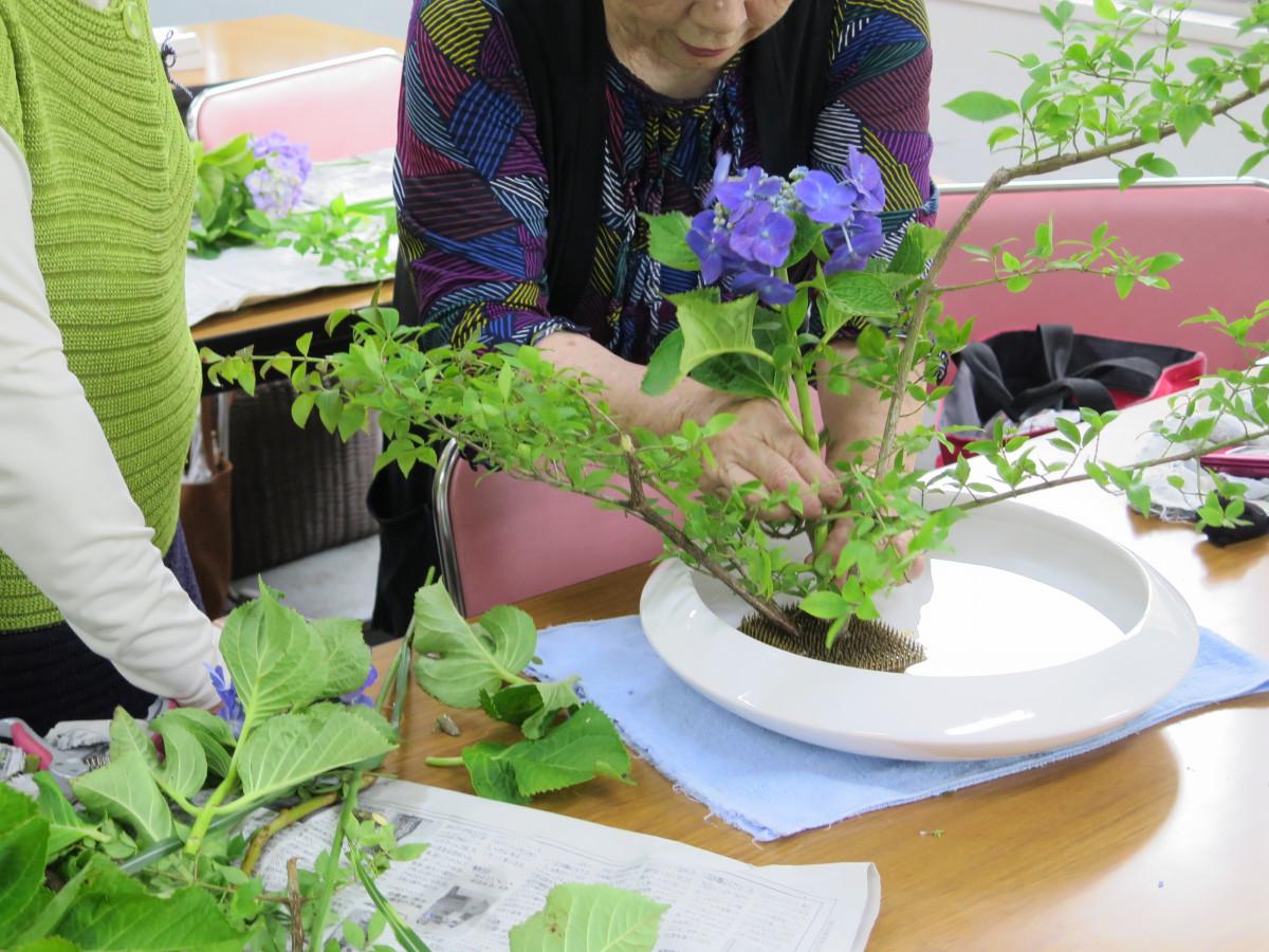 いけばな小原流<br /> 1年で日本の四季に咲く主な花の名前を覚えます。