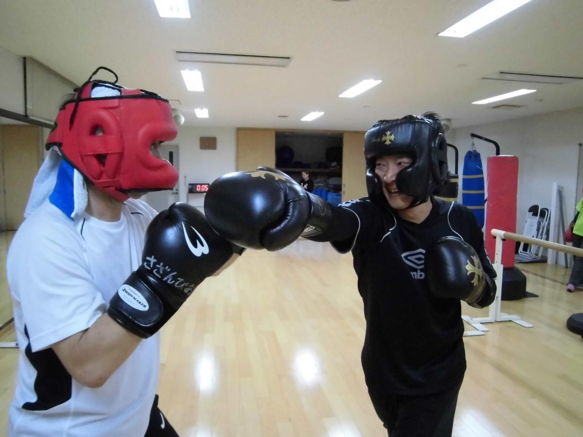 キック&ボクシングダイエット(女性)ボクシング同好会(男性)