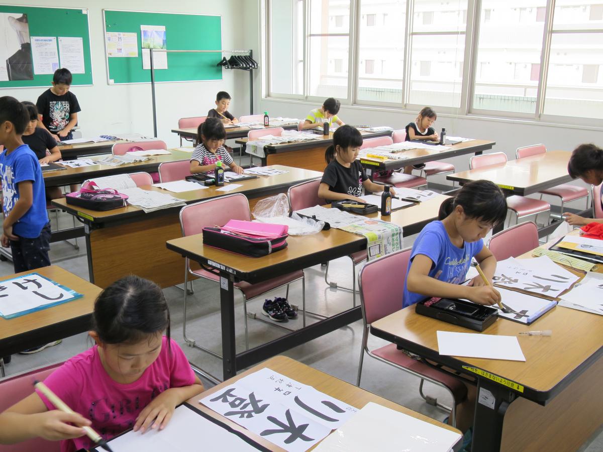 こども書道【硬筆】教室 《小学生》 (前期)イメージ画像