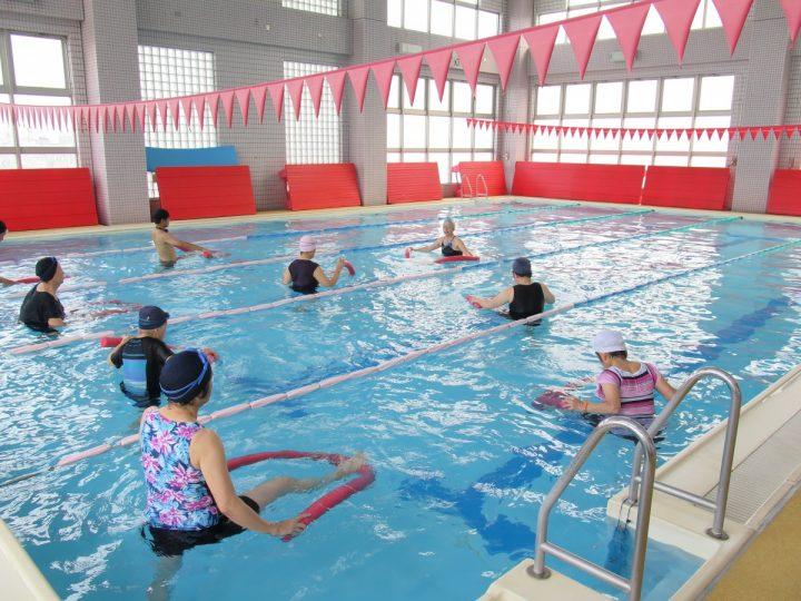 水中ストレッチ・トレーニング  <前期>イメージ画像